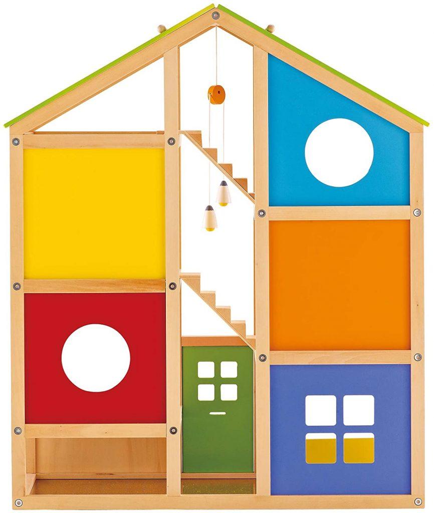 La maison Hape Toute saison est très colorée.