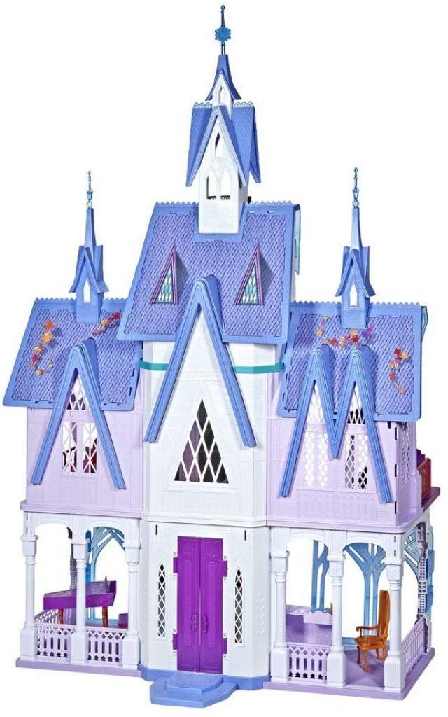 Le château d'Arendelle dispose de 7 pièces.