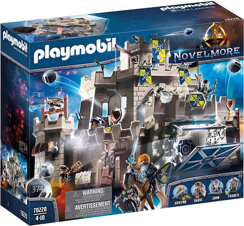 Le château fort Playmobil Novelmore 70220 comporte 4 personnages.