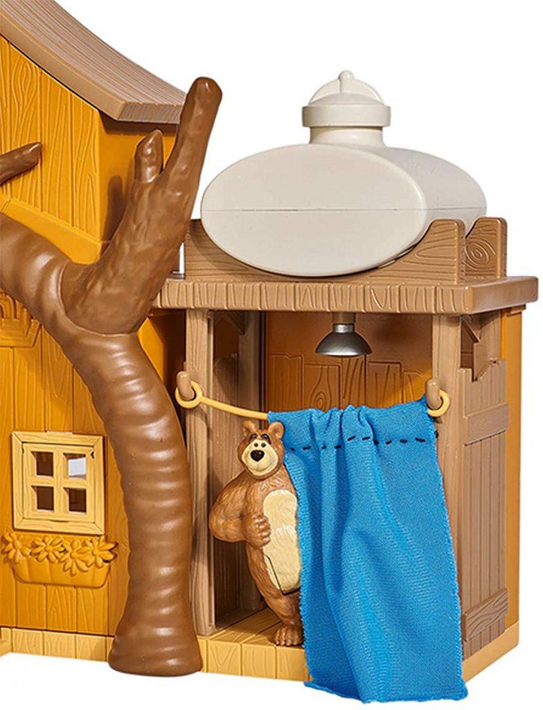La maison de Michka dispose d'une douche.