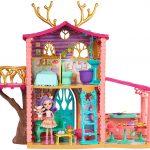 La maison Enchantimals de la mini-poupée Danessa Biche est adorable.