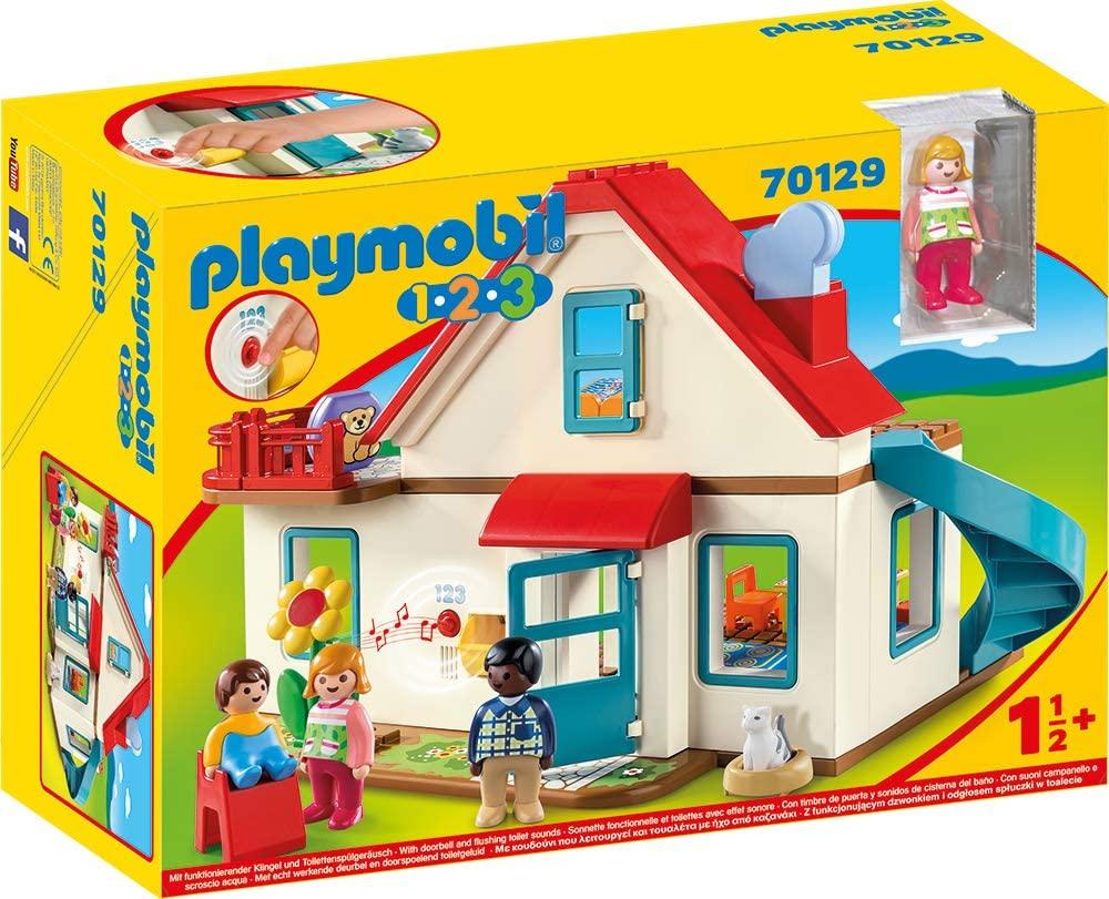 La maison Playmobil 123 peut être utilisé par un bébé de 18 mois et plus.