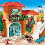 La maison Playmobil de vacances a tout pour plaire.