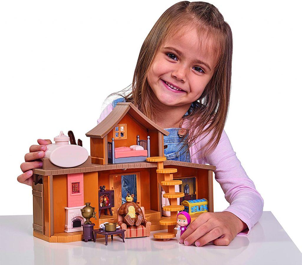 Cette maison est un jeu pour les enfants de 3 ans et plus.