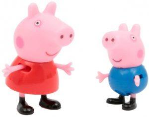 Ces personnages représente Peppa Pig et Georges Pig.